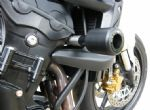 Triumph Street Triple 2007-12 Evotech Crash Bobbins / Frame Sliders: Part # bun000228